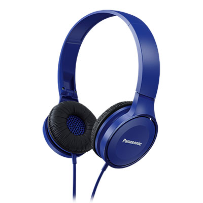 AURICULAR PANASONIC PLEGABLE OVER-EAR RP-HF100E AZUL