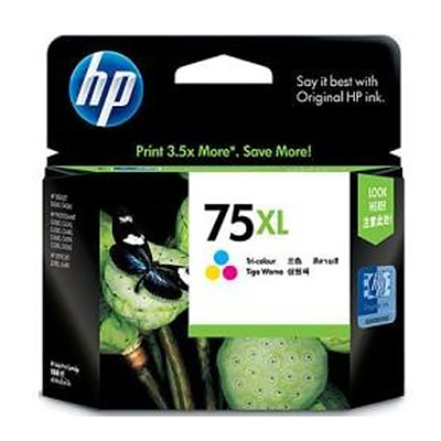 CARTUCHO HP  75XL EXTRA GRANDE TRICOLOR