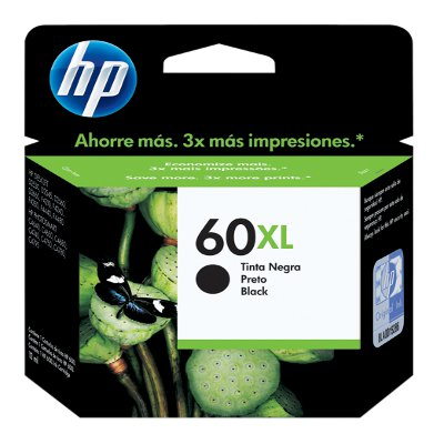 CARTUCHO HP  60XL NEGRO