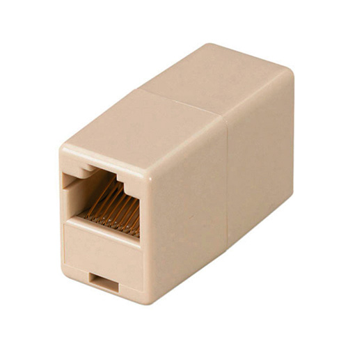 EMPALME PARA CABLES PATCHCORD LINEALES RJ45  SIMPLE