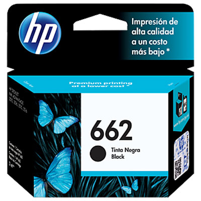 CARTUCHO HP 662 ADVANTAGE NEGRO