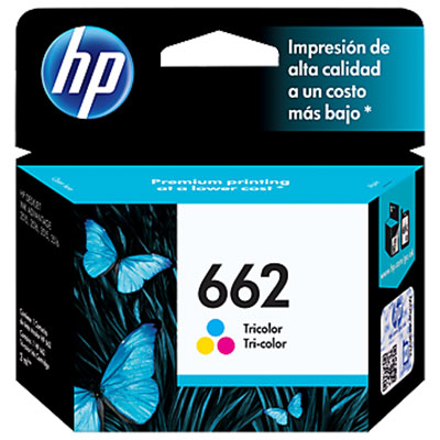 CARTUCHO HP 662 ADVANTAGE TRICOLOR