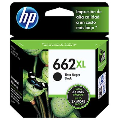 CARTUCHO HP 662XL ADVANTAGE NEGRO