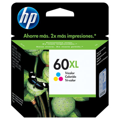 CARTUCHO HP  60XL TRICOLOR