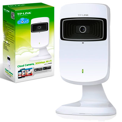 CAMARA SEGURIDAD IPCAM WIFI CLOUD TP-LINK NC200 C/AUDIO