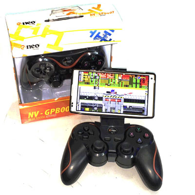 JOYSTICK PARA ANDROID / iOS BLUETOOTH NEO NEGRO