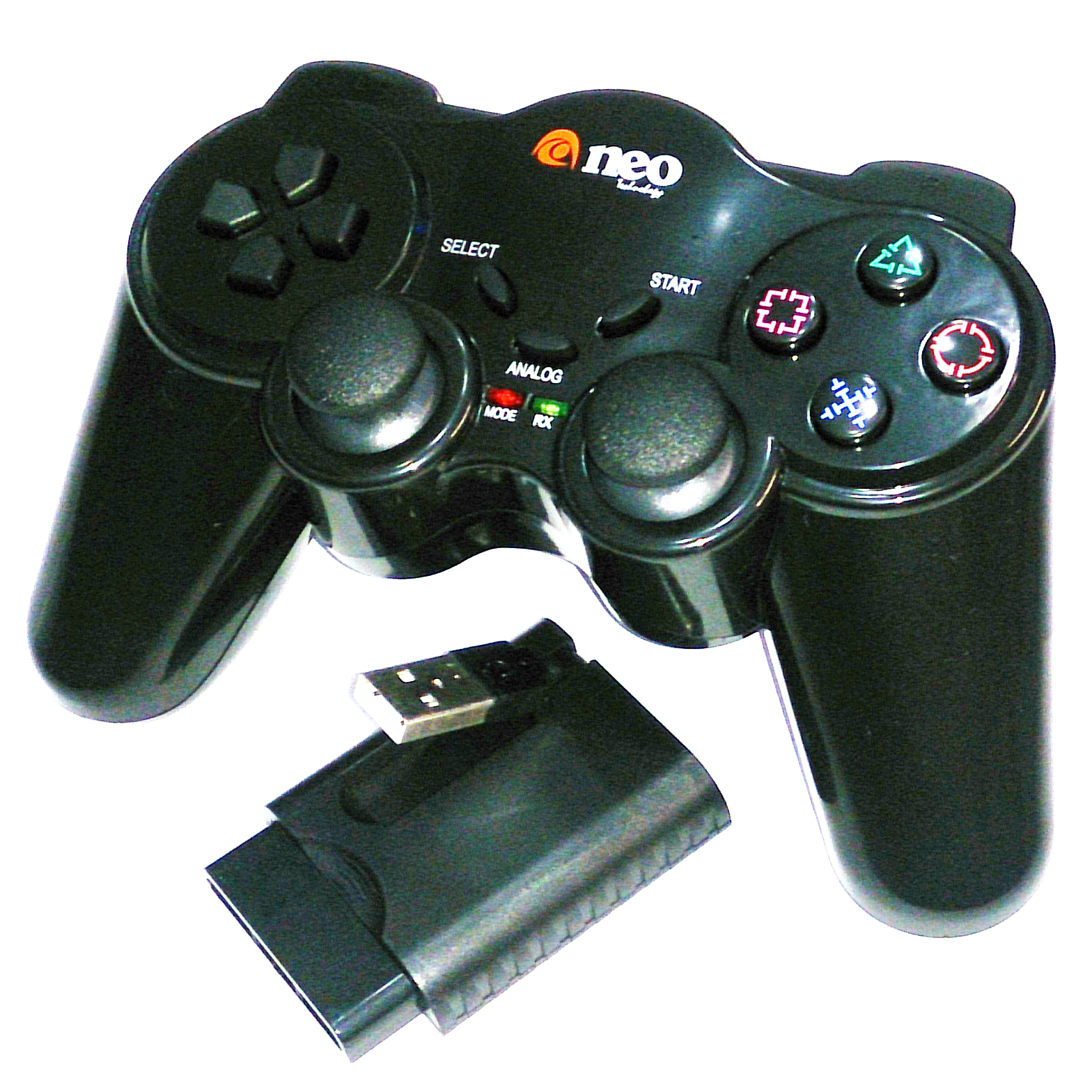 JOYSTICK PARA PC/PS2/PS3 INALAMBRICO NEO NV-GPW208