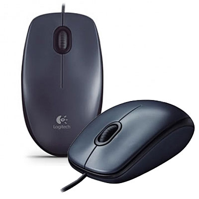MOUSE OPTICO USB  800 DPI LOGITECH M100