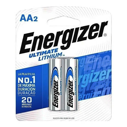 PILA AAA LITIO ENERGIZER ULTIMATE BLISTER x2