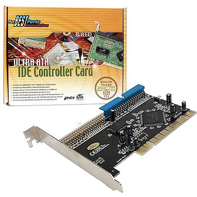 PLACA PCI IDEx2 SOFTWARE RAID SIL680 SY-VIA-133R