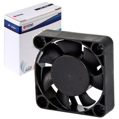 FAN 40MM 3PIN TITAN TFD-4010M12C 5000RPM RULEM+BUJE