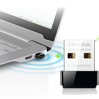 ADAPTADOR USB WIFI N 150MBPS MINI TP-LINK TL-WN725N