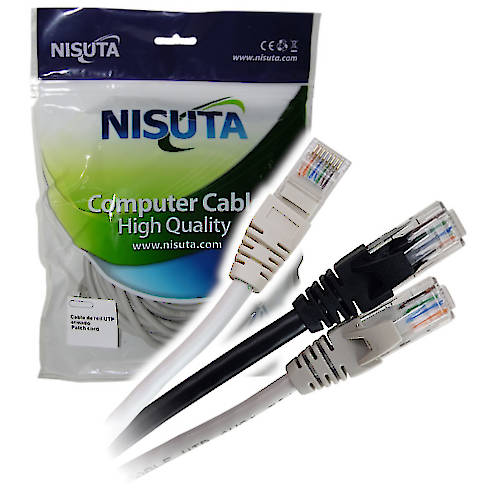 PATCH CORD RJ45  1,5 MTS CAT 5