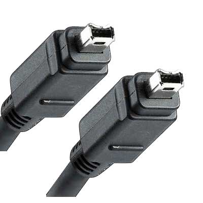 CABLE FIREWIRE MACHO-MACHO 4PIN-4PIN 1,8 MTS