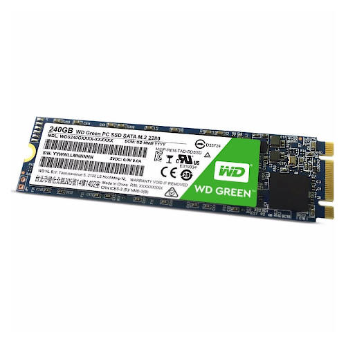 DISCO SSD ESTADO SOLIDO 240GB M2 WD WDS240G2G0B GREEN