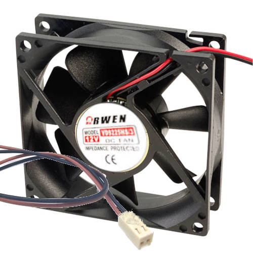 FAN  92MM 2PIN ARWEN VD9225HB/R 25 MM 3200RPM RULEMAN