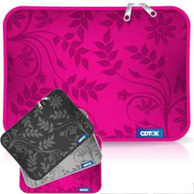 FUNDA 15 PULG P/NOTEBOOK NEOPRENE ESTAMPADA 2 CIERRES CK835