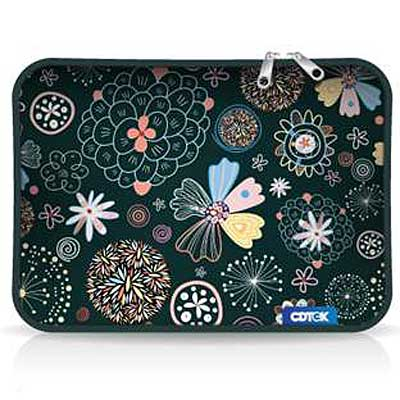 FUNDA 15 PULG P/NOTEBOOK NEOPRENE ESTAMPADA 2 CIERRES CK825