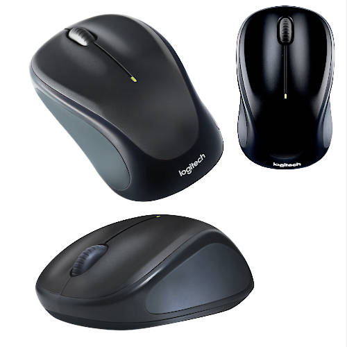 MOUSE INALAMBR OPT 1000 DPI 3 BOT LOGITECH M317 UNIFYING