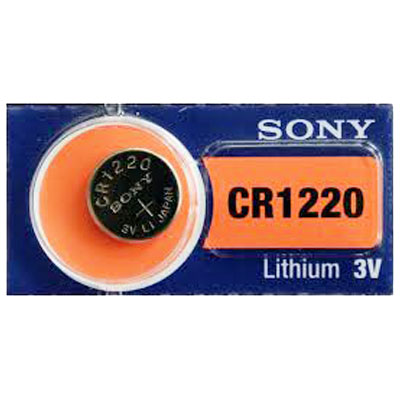 PILA CR1220 SONY LITIO 3V BLISTER X1
