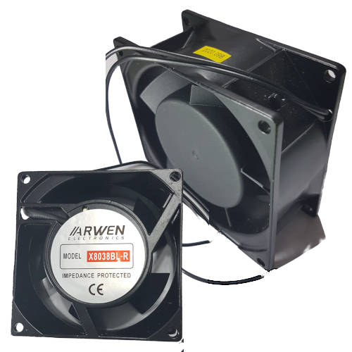 FAN TURBINA  80mm x 38mm ARWEN 3000RPM RULEMAN 220V CA
