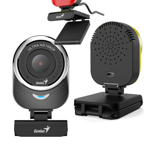 WEBCAM HD 1080P GENIUS QCAM 6000 30 FPS C/MIC NEGRA